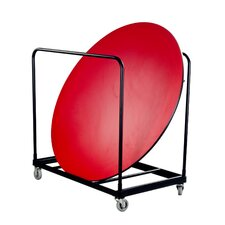 "<strong>AmTab Manufacturing Corporation</strong> 72"" Round Table Caddy"