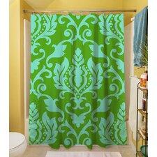 Francie Damask Shower Curtain
