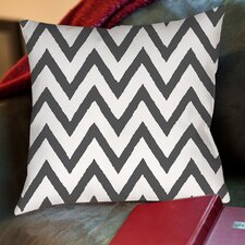 Zig Zag Printed Pillow