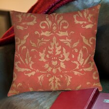 Golden Baroque Printed Pillow