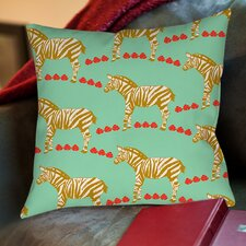 Zebra Printed Pillow