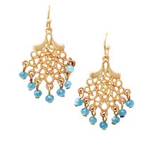 Mini Filigree Chandelier Drop Earrings