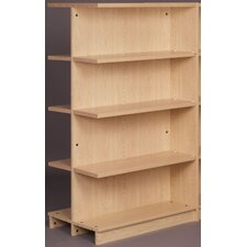 "Library 61"" Adder Double Face Shelf Bookcase"
