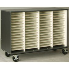 "Music 40"" Choral Folio Storage with Casters"