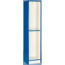 Single Tier Locker with Shelf