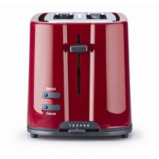 Eco 2 Slice Toaster in Red