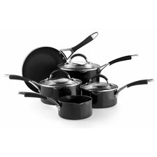 Inspire 8 Piece Aluminium Cookware Set