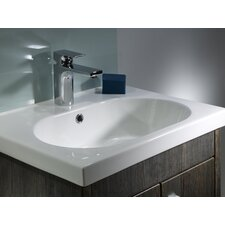 Impact Countertop Basin in White