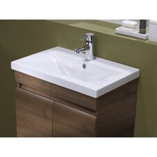 Groove Countertop Basin in White
