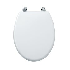 Topaz Toilet Seat in White