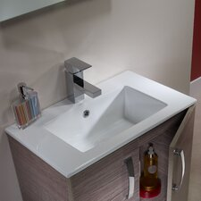 Swift Countertop Basin in White