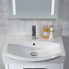 Studio Countertop Basin in White