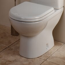 Micra Toilet Seat in White