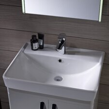 Compass Countertop Basin in White