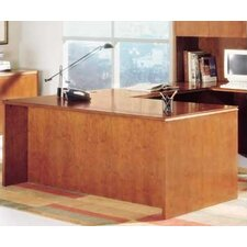 "<strong>High Point Furniture</strong> Forte 66"" W Executive Desk Shell"