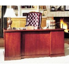 "<strong>High Point Furniture</strong> Legacy 60"" Double Pedestal Executive Desk"