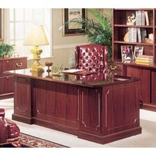 Bedford Executive U-Shaped Desk Office Suite