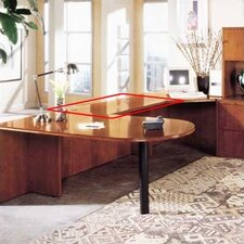"<strong>High Point Furniture</strong> Forte Office 29"" H x 48"" W Desk Bridge"