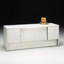 "<strong>High Point Furniture</strong> Bravo Panel 72"" W Storage Credenza with Drawers"