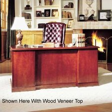 <strong>High Point Furniture</strong> Legacy Single Pedestal Executive Desk