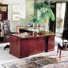 "<strong>High Point Furniture</strong> Legacy 48""W Desk Height Veneer Return"