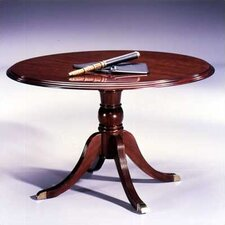 "Traditional 48"" Round  4-Footed Pedestal Table"