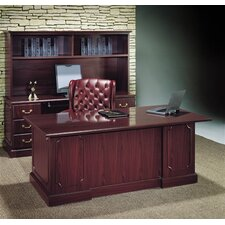 <strong>High Point Furniture</strong> Wyndham Edges Standard Desk Office Suite