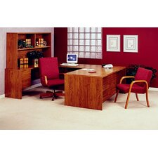 <strong>High Point Furniture</strong> Bravo U-Shape Desk Office Suite