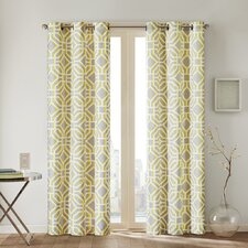 Maci Window Pleated Curtain Panel