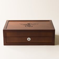 Large Bee Motif Jewelry Box