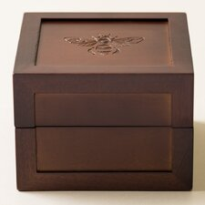 Bee Motif Medium Jewelry Box