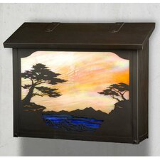 Monterey Cypress Wall Mounted Mailbox