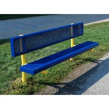 <strong>Kidstuff Playsystems, Inc.</strong> PVC and Steel Bench