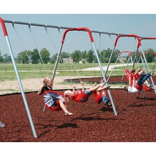 <strong>Kidstuff Playsystems, Inc.</strong> 4-Place Bipod Swing Set
