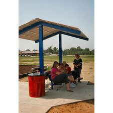 <strong>Kidstuff Playsystems, Inc.</strong> Kids Square Picnic Table Shelter