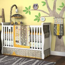 <strong>DK Leigh</strong> My Baby Hoo Owl 10 Piece Boutique Crib Bedding Set
