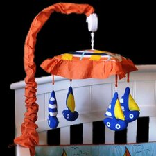 <strong>DK Leigh</strong> Baby Sailor Sailboat Musical Mobile