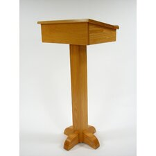 <strong>Executive Wood Products</strong> Pedestal Speaker Stand