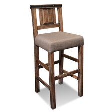 "Belmont 30"" Bar Stool with Cushion"