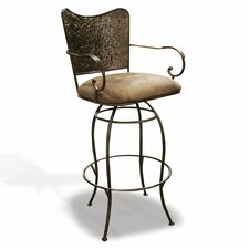 "Sarah 24"" Swivel Bar Stool"