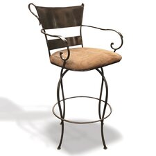 "Ladder 24"" Swivel Bar Stool"