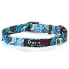 <strong>Dutch Dog</strong> Nature Aqua Flora by Susan Melrath Fashion Dog Collar