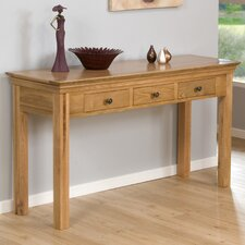 Constance 3 Drawer Console Table