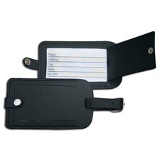 1000 Series Classic Leather Luggage Tag