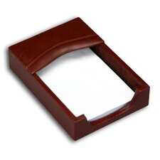 1000 Series Classic Leather 4 x 6 Memo Holder in Mocha