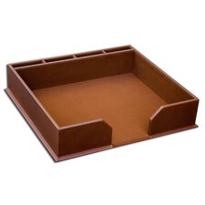 <strong>Dacasso</strong> 3200 Series Leather Conference Pad Holder in Rustic Brown