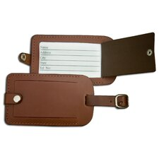 3200 Series Leather Luggage Tag