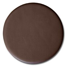 1000 Series Classic Top-Grain Leather Coaster in Chocolate Brown