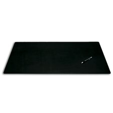 <strong>Dacasso</strong> 1000 Series Classic Leather 38 x 24 Desk Mat without Rails in Black