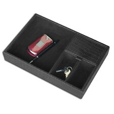 2000 Series Crocodile Embossed Leather Standard Accessory Tray